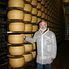 Making Organic Parmigiano Reggiano : In November of 2008, I visited Lucini Italia's organic farms in Italy, including this trip to Lucini's small-batch artisanal producer  of organic Parmigiano Reggiano cheese.
